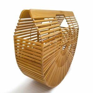 manifesting_maria Bags - Trendy bamboo handbag. New.